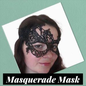 Sexy Black Lace Mask (A1)